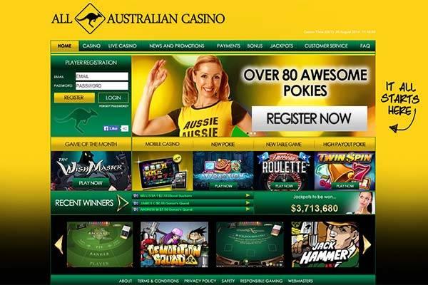 All Australian Casino home