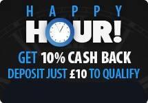 BGO Happy Hour CashBack