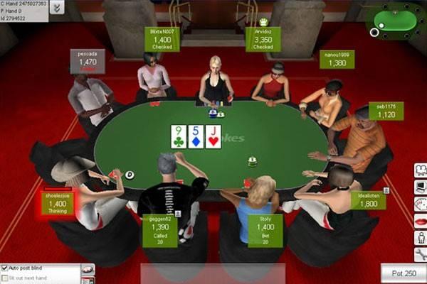 Play poker at Ladbrokes