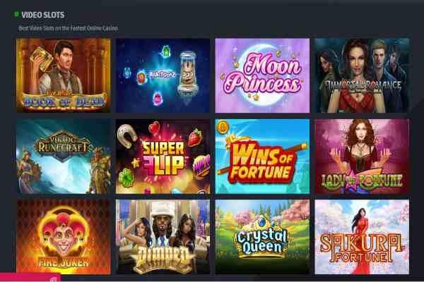 React Casino Screen 1